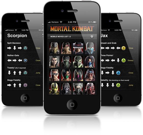 Mortal Kombat 9 Mobile Moves List – Preston Stahley